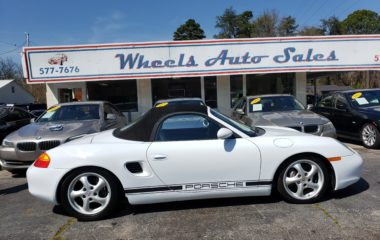1997 Porsche Boxster 2dr Roadster Manual